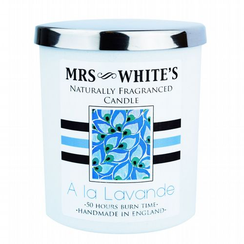Mrs White's - Scented Candle - A la Lavande